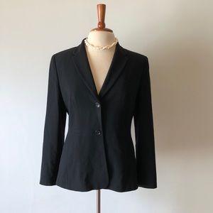 Classic black blazer with lining